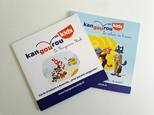 kangourou book et cahier de liaison