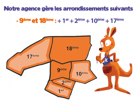 L'agence Kangourou Kids Paris Nord Ouest